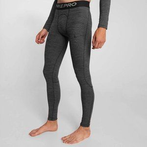 Nike Pro Thermal Jogging Tights Pants Medium Black